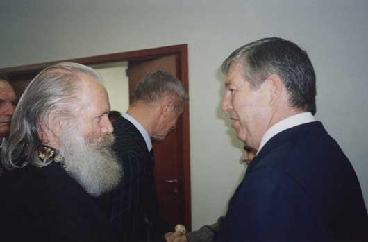 Беседа с Сербским Престолонаследником Его Высочеством Принцем Александром Карагеоргиевичем, май 2004г.