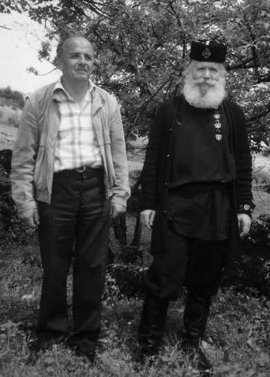 Л.Д. Симонович-Никшич и Никола Вуйачич