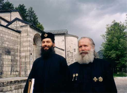 Отец Данила Романов и Л.Д. Симонович-Никшич