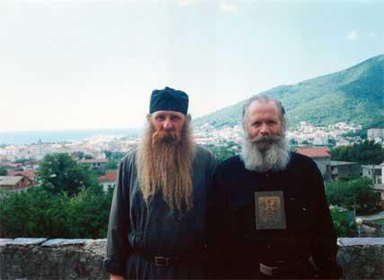 Черногорский Серб и Русский Серб - Дружба на веки