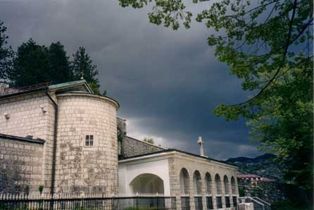Древняя резиденция черногорских владык - монастырь в г. Цетинье